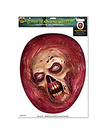 Zombie Head Toilet Topper- Decorations