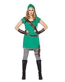 Woodland Huntress Adult Womens Costume