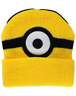 One Eye Minions Beanie Hat- Despicable Me