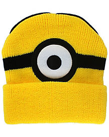 One Eye Minion Beanie Hat- Despicable Me