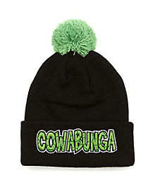 Cowabunga Pom Beanie Hat - Teenage Mutant Ninja Turtles