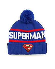 Superman Beanie Hat