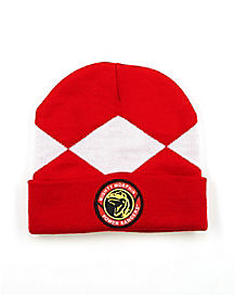 Red Power Ranger Beanie - Power Rangers