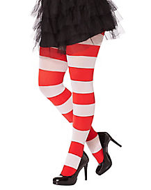 Cat in the Hat Striped Tights - Dr Seuss