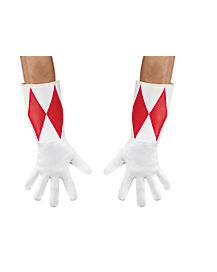 Adult Power Rangers Red Ranger Gloves