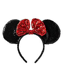Sequin Minnie Mouse Headband - Disney