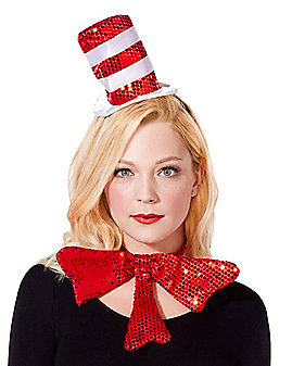Cat in the Hat Mini Hat Fascinator - Dr. Seuss