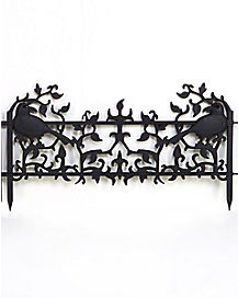 13.5 in Raven Edger Fence - Decorations