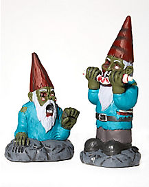 2 Pack Mini Zombie Gnomes