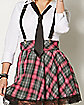 Adult High Class Nerdy School Girl Costume