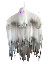 6 Ft Hanging Phantom with Light Up Eyes - Decorations