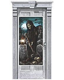 Cemetery Reaper Door Cover - Decorations