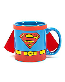 Caped Superman Mug 24 oz- DC Comics