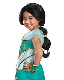 Kids Jasmine Wig - Aladdin