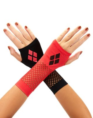glove accessories for harley quinn cosplay