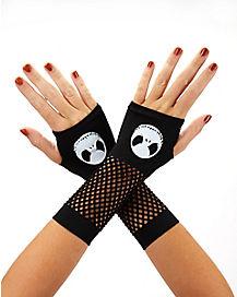 Jack Skellington Face Gloves