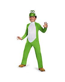 Kids Yoshi Costume Deluxe - Mario Bros