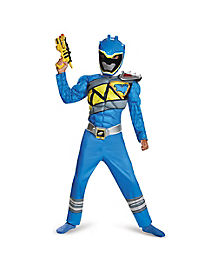 Kids Blue Ranger Costume - Power Rangers Dino Charge