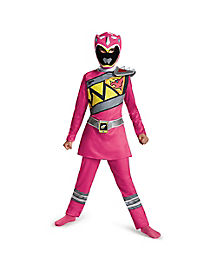 Power Rangers Dino Charge Pink Girls Costume