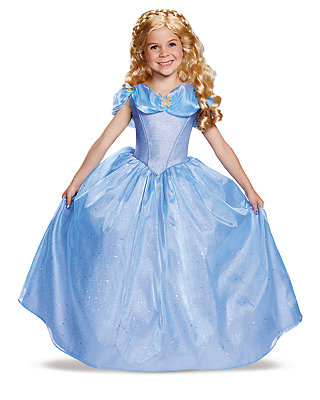 Click Here to buy Cinderella Movie Prestige Girls Costume from Spirit Halloween