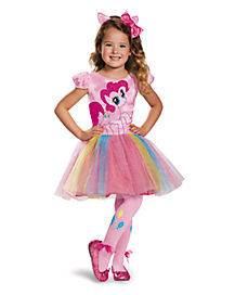 My Little Pony Pinkie Pie Tutu Girls Costume