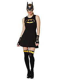 Lace Back Batman Dress - DC Comics