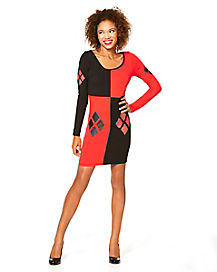 Bodycon Harley Quinn Dress - Batman