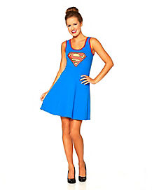 Supergirl Lattice Dress
