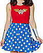 Lace Back DC Comics Wonder Woman Dress