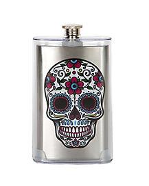 Sugar Skull Flask