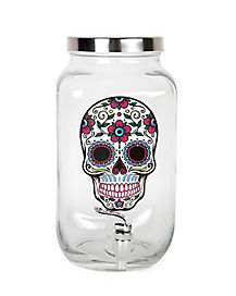 Sugar Skull Beverage Dispenser