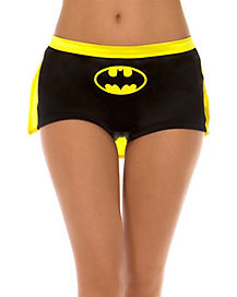 Caped Batman Boyshort Panties - DC Comics