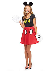 Skater Mickey Mouse Dress - Disney