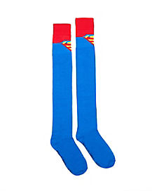 Superman Over The Knee Socks - DC Comics