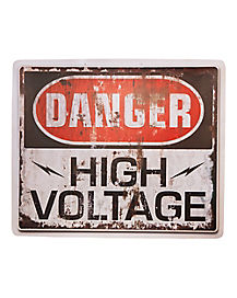 High Voltage Sign - Decorations