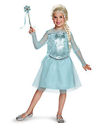 Elsa Ballerina Girls Costume