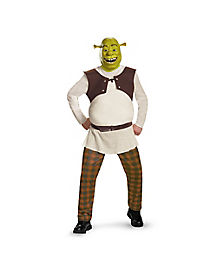 Deluxe Shrek Adult Mens Costume