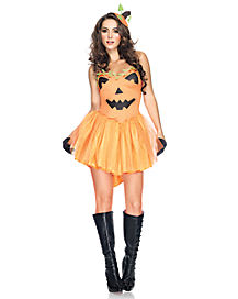 Adult Pumpkin Princess Costume