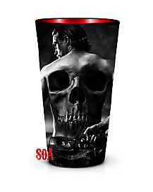 Sons of Anarchy Skull Pint Glass