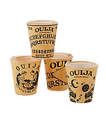 4 Pack Ouija Board Shot Glasses
