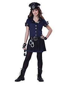 Police Sergeant Girls Costume