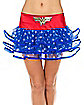 Adult Ribboned Wonder Woman Tutu Skirt - DC Comics