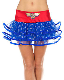 Ribboned Wonder Woman Tutu Skirt - DC Comics