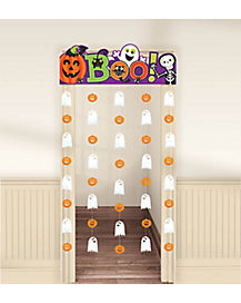 3 Ft Boo Doorway Curtain - Decorations
