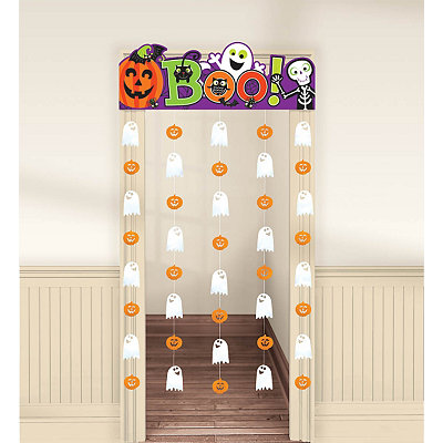 Boo Doorway Curtain