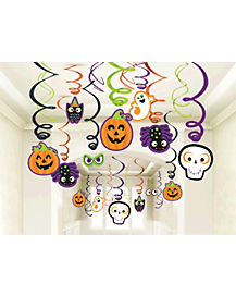 Family Halloween Swirl Mega Kit - Decorations
