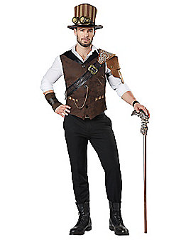 Adult Steampunk Traveler Costume