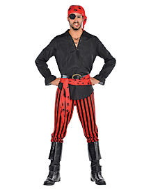 Cut Throat Captain Adult Pirate Costume