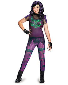 Descendants Mal Girls Costume