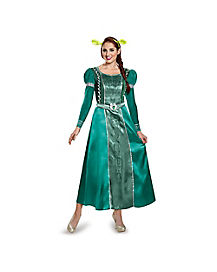 Shrek Fiona Adult Womens Costume